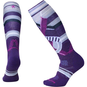 Smartwool PhD Ski Medium Pattern - Calcetines Mujer - violeta